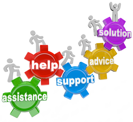 assistance advice support